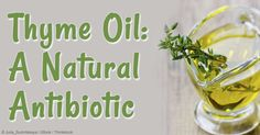 In aromatherapy, thyme oil offers antibiotic and calming effects – read this article to learn about the uses, benefits, and composition of this herbal oil.   http://articles.mercola.com/herbal-oils/thyme-oil.aspx