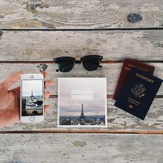Paris travels.