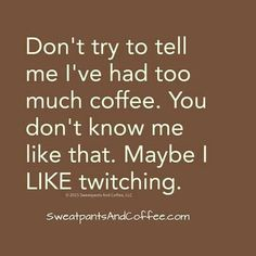 I don't allow myself to drink this much coffee lol but when I was younger I did!>>>makes me remember the days I drank 3 or 4 pots of coffee everyday. Coffee Talk, Coffee Is Life, I Love Coffee, Coffee Break, My Coffee, Coffee Drinks, Coffee Shop, Coffee Cups, Coffee Signs