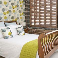 Dandelion Clocks Wallpaper = Kitchen, Bath or Bedroom