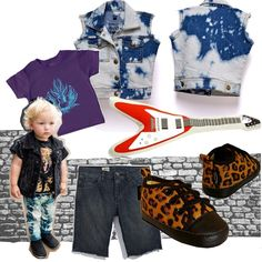 Rock kiddies // www.-kid-a.gr #kids