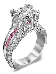 Perfection Absolutely Love This Ring Pink Wedding Diamond