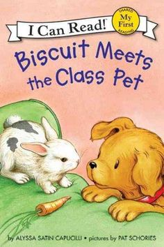 Hop, hop! There's someone new at Biscuit's house--Nibbles, the class pet, has come for a visit. Nibbles likes exploring Biscuit's home and wants to play with all of Biscuit's toys. Biscuit isn't sure                                                                                                                                                      More