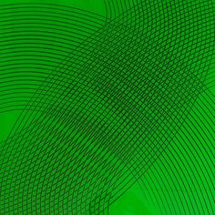Image 1 of 6 James Boatman Green on Black 2011 60x60 cm