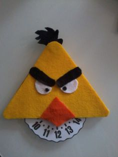 angry bird disco orario Angry Birds, Craft Projects, Projects To Try, Drink Sleeves, Amelia, Teaching, Crafts, Feltro, Home