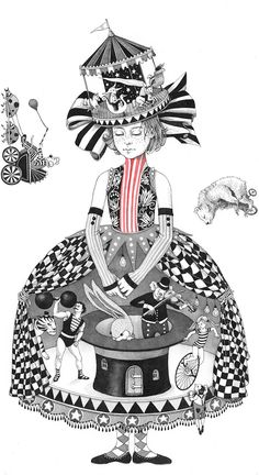 My Childhood – The beautiful and poetic illustrations by Sveta Dorosheva (image)