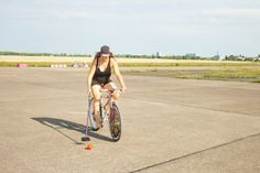 3. Internationales Bike Polo Turnier auf dem Tempelhofer Feld