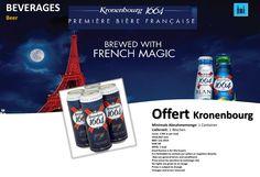 Offert Kronenbourg Beer Kronenbourg 1664 Premium Lager 500ml Dosen Kronenbourg ist die größte französische Brauerei. Sie hat ihren Sitz im Straßburger Stadtteil Cronenbourg. +49-8034-7056800 mail@beveragebroker.me