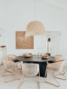 Kitchen Interior, Room Interior, Interior Design, Kitchen Design, Dining Table Design, Dining Room Table, Dining Area, Sweet Home, Esstisch Design