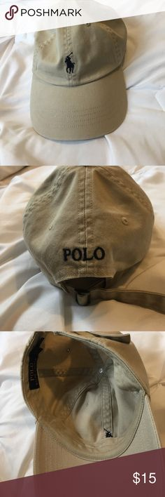 Polo hat Tan polo hat Polo by Ralph Lauren Accessories Hats