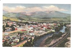 Steamboat Springs Colorado Vintage Postcard by PicturesFromThePast