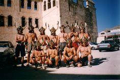 Escuadra de salvajes de villena en 1998 Sumo, Wrestling, Sports, Savages, Lucha Libre, Hs Sports, Sport