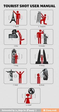 Tourist shot user Manual, I am so doing these!