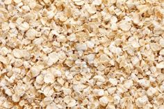 Oatmeal  rolled oats  texture, full frame background   Oats is an excellent source of  thiamine, iron and fiber