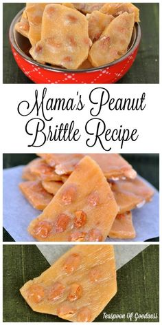 Nothing is better than memories of childhood and this Peanut Brittle recipe is a favorite for me. Not only is it something I have loved as long as I can remember, it is a little bit of my mom I can have any time I am in the mood to make candy. This unique recipe is hers, and is the best peanut brittle recipe you will ever make. - Teaspoon Of Goodness