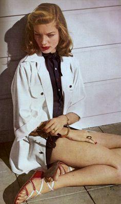 Lauren Bacall's Legs | Lauren Bacall