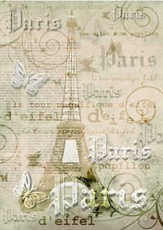 "SIMPLY CRAFTS: ""La tour magnifique d'eifel"" (The magnificent eifel tower) ~ FREE to use"