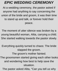 Epic Wedding Ceremony - Funny Story !!!
