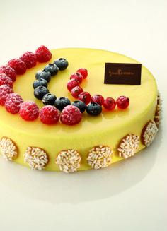 Bavarese vaniglia e frutta
