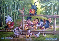 ! ART PAINTINGS By DANDAN SA - Blog Lukisan Bagus Indah Mempesona