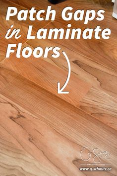 How To Patch Gaps In Laminate Floors When You Have Removed A Wall Or Want