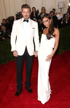 Power couple alert: Posh and Beck at the Met Ball 2014