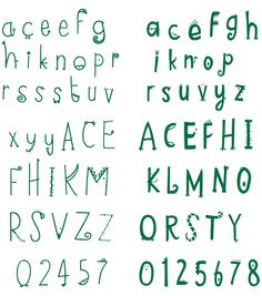 Chester Zoo custom type  http://www.underconsideration.com/brandnew/archives/critter_type.php