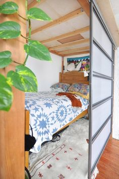 Beds hidden behind s
