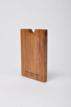 maison martin margiela 11 wood card holder