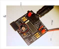 Reading sensors with a microprocessor.