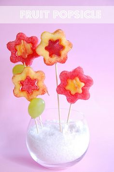 fruit popsicle by Amaradolcezza, via Flickr