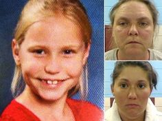 Savannah Hardin, 9 yr old girl from Gasden (Alabama), died after she was forced to run non-stop for THREE HOURS as a punishment for lying about eating a chocolate candy bar. The chocolate was forbidden because she was a bedwetter. The stepmother - 27-year-old Jessica Mae Hardin and grandmother - 46-year-old Joyce Hardin Garrard -- were both arrested and charged with  murder after the death was ruled a homicide by a state pathologist.  The girl was severely dehydrated & had low sodium levels.