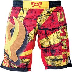 MyHouse Sublimated Russia Wrestling Fight Short