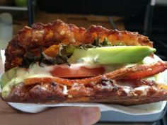 Napkin Friends --Food Truck, Seattle, Latkes and Honeycrisp Apple slice!