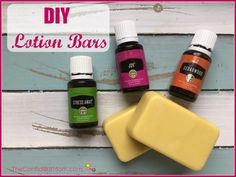 Young Living Lotion Bars
