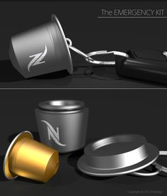 InDezign - Nespresso Emergency Kit