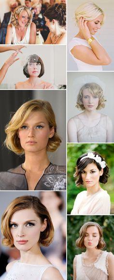 Short Chic Wedding Hair Inspiration 0043 Short And Chic.