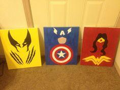 For Zae's Superhero room.