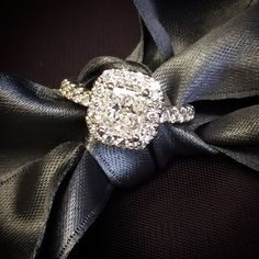 Radiant Cut Diamond Engagement Ring from Rothschild Diamond - New Orleans Engagement Boutique!  Gorgeous!!!