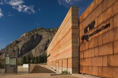 Nk'Mip Desert Cultural Centre – HBBH Architects  Osoyoos, British Columbia, Canada... Rammed Earth Wall. Epic