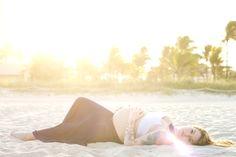 beach maternity session  { HALI ROSE PHOTOGRAPHY } - South Florida Wedding Photographer