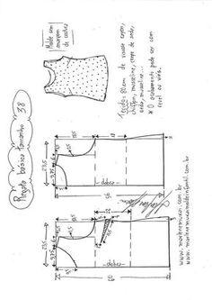 Regata Básica – DIY – molde, corte e costura – Marlene Mukai