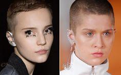 Maquiagem na orelha é tendência