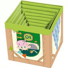 HABA 5879 Meine erste Spielwelt Bauernhof - Stapelwürfel Auf dem Land