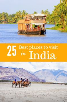 Best India travel destinations for first-time visitors: Golden Triangle India, Rajasthan travel, Kerala travel destinations, Himalaya, Holy cities and other unique places in India. India bucket list…More Travel Destinations In India, India Travel Guide, Amazing Destinations, Asia Travel, Travel In India, Bucket List Destinations, Vietnam Travel, Canada Travel, Travel Goals