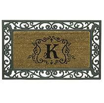 Monogram Doormat - K