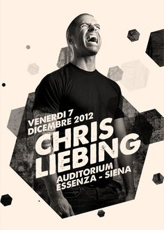 Flyers and Poster design for Chris Liebing Event at Essenza – Siena