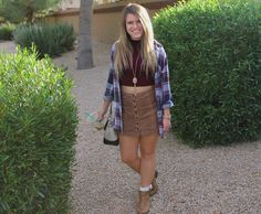 Fall Clothes in the Desert