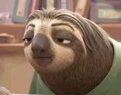 "Did you catch this ""Frozen"" star's cameo in ""Zootopia""?<<WOW I didn't know that XD  best gif ever"