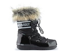 Śniegowce moon boot monaco low nero